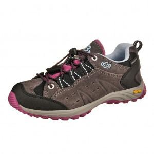 Dětská obuv Brütting Mount Bona Low  grau lila - Do hor nebo nížin d186b09464