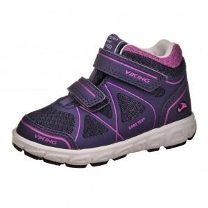 Dětská obuv VIKING Trym MID GTX   /purple/dk. pink -