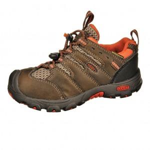 Dětská obuv KEEN Koven low  /cascade brown/burnt orange -  Do hor nebo nížin