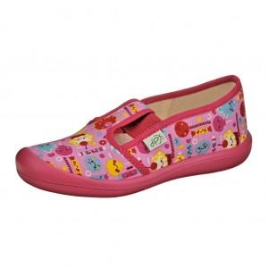 Dětská obuv Domácí obuv DPK /růžová -