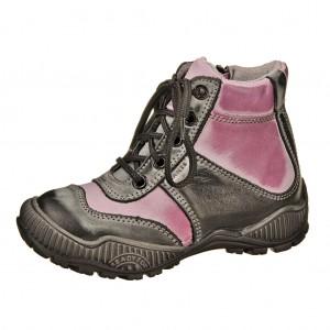 Dětská obuv Santé NTOP 1  /černá/fialová -  Celoroční