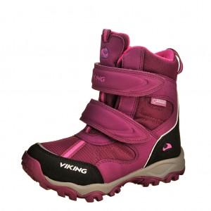 Dětská obuv VIKING Bluster II GTX   /plum/pink -