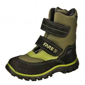Dětská obuv FARE Polarisky  /zelené -  Zimní
