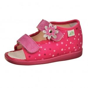Dětská obuv Domácí sandálky DPK /růžové -