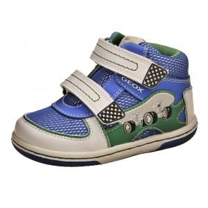 Dětská obuv GEOX B Flick  white royal - Celoroční 74a2348d4a