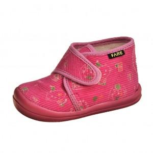 Dětská obuv FAREčky   /růžové na suchý zip -