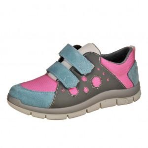 Dětská obuv Ricosta John  /graphit/pink/wasser - Boty a dětská obuv