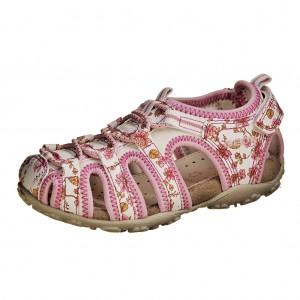Dětská obuv GEOX J S.Roxane C  /white/pink - X...SLEVY  SLEVY  SLEVY...X