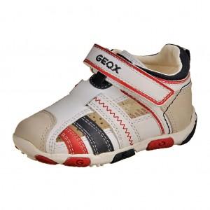 Dětská obuv GEOX B Balu  /white/navy *** - X...SLEVY  SLEVY  SLEVY...X