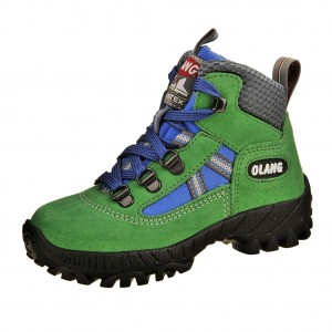 Dětská obuv OLANG Cortina-Kid.tex   /verde -  Do hor nebo nížin