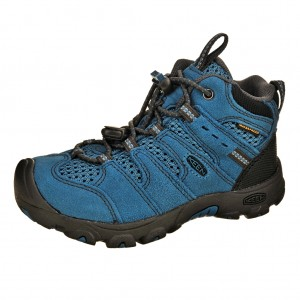 Dětská obuv KEEN Koven MID WP /celestian/raven -  Do hor nebo nížin