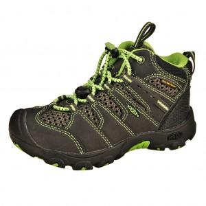 Dětská obuv KEEN Koven MID WP /raven/jasmine green -  Do hor nebo nížin