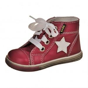 Dětská obuv FARE 2151154  /červené -  První krůčky