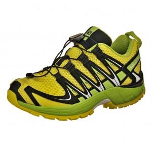 Dětská obuv Salomon XA Pro 3D J /yellow/green/black - X...SLEVY  SLEVY  SLEVY...X