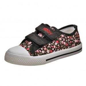 Dětská obuv Plátěnky PEDDY PU-501-26-35 /black -