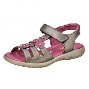 Dětská obuv Ricosta Chica  /graphit/perlato  - Boty a dětská obuv