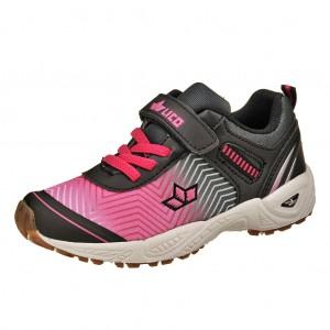 Dětská obuv LICO Barney VS   schwarz/pink -  Sportovní