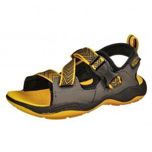 Dětská obuv KEEN Rock Iguana  /black/yellow  -