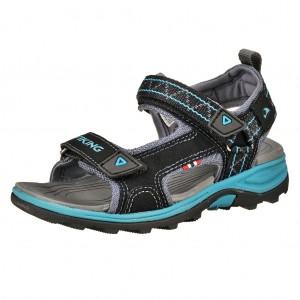 Dětská obuv Sandály VIKING Sandoey  /charcoal/petrol  -