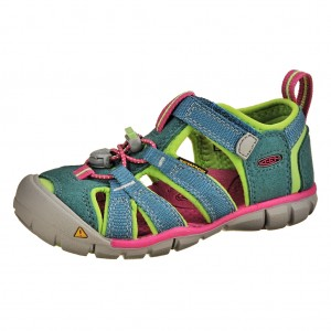 Dětská obuv KEEN Seacamp   /everglade/jasmine green -