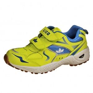 Dětská obuv LICO BOB V    /gelb/blau -  Sportovní