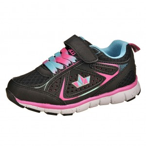 Dětská obuv LICO Rainbow VS  /schwarz/pink - Boty a dětská obuv