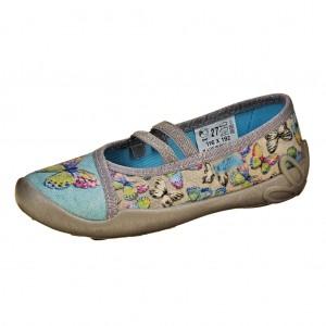 """Dětská obuv Domácí obuv Befado """"motýlci"""" -"""