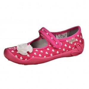 Dětská obuv Domácí obuv Befado růžová -