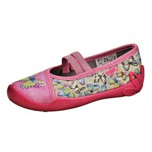 """Dětská obuv Domácí obuv Befado """"motýl"""" -"""