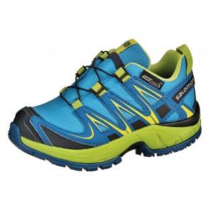 Dětská obuv Salomon XA Pro 3D   /blue -  Sportovní
