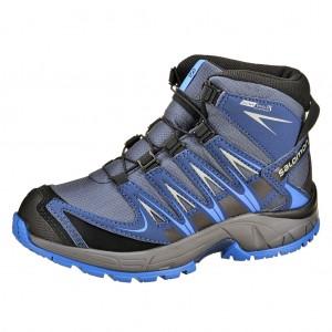 Dětská obuv Salomon XA Pro 3D MID   /blue - Boty a dětská obuv