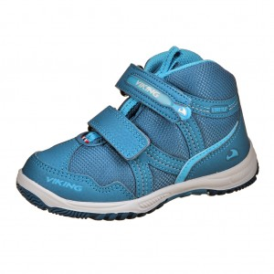 Dětská obuv VIKING Woodpecker MID GTX  /petrol -