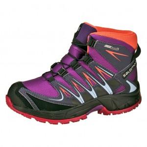 Dětská obuv Salomon XA Pro 3D MID   /deep dahlia - Boty a dětská obuv