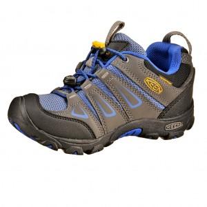 Dětská obuv KEEN Oakridge low WP  /magnet/true blue - Boty a dětská obuv