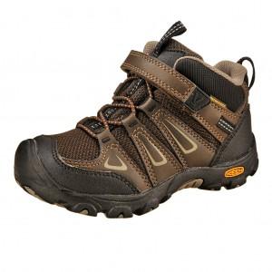 Dětská obuv KEEN Oakridge MID WP  /brown -  Do hor nebo nížin