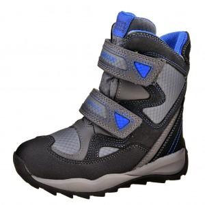 Dětská obuv GEOX J Orizont    /grey/royal -  Zimní