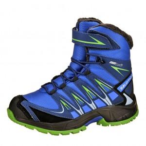 Dětská obuv Salomon XA PRO WINTER  /blue - Boty a dětská obuv