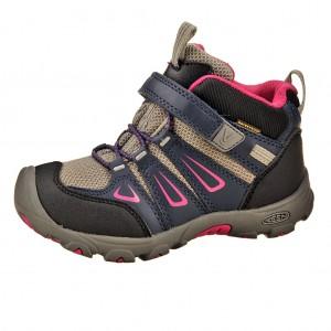 Dětská obuv KEEN Oakridge MID WP  /dress blues/very berry -  Do hor nebo nížin
