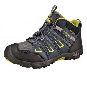 Dětská obuv KEEN Oakridge MID WP /mdn navy/macaw -  Do hor nebo nížin