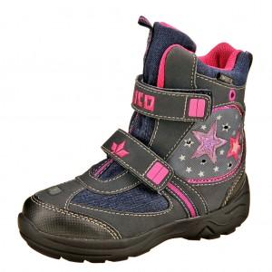 Dětská obuv LICO Lilly V  /marine/pink - Boty a dětská obuv