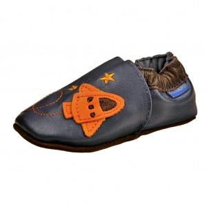 Dětská obuv Capáčky D.D.Step  /modré -  První krůčky