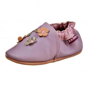 Dětská obuv Capáčky D.D.Step  /fialové -  První krůčky