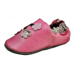 Dětská obuv Capáčky D.D.Step  /růžové -  První krůčky