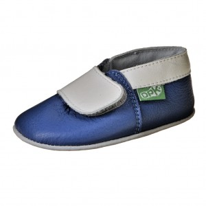 Dětská obuv Capáčky DPK  /modré -  První krůčky