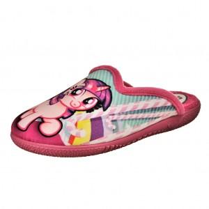 Dětská obuv Santé Pantofle růžové -