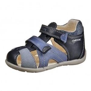 Dětská obuv GEOX B Kaytan  /navy/lt.blue -  Sandály