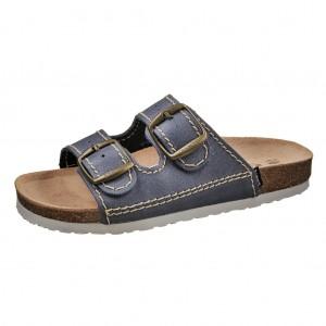 Dětská obuv Santé Pantofle modré -