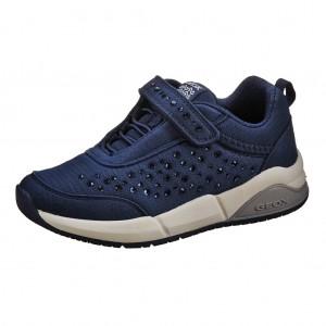 Dětská obuv GEOX J Hideaky G   /navy - Boty a dětská obuv