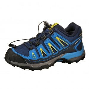 Dětská obuv Salomon X-Ultra GTX J  /blue depths - Boty a dětská obuv
