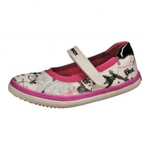 Dětská obuv GEOX  J Kiwi  /white - Boty a dětská obuv